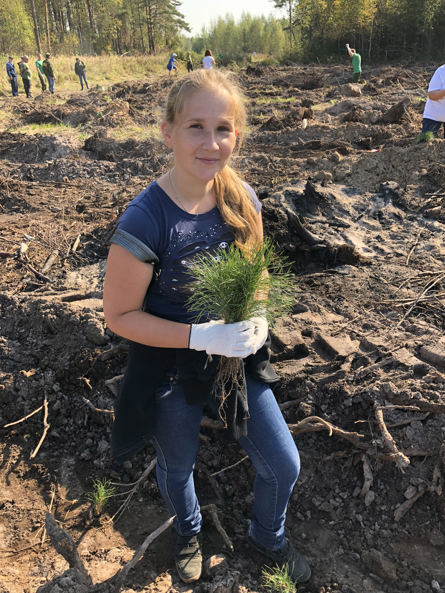 Акция «Наш лес. Посади свое дерево» в г. Раменское