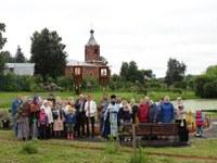 Ежегодный крестный ход на праздник Тихвинской иконы Божией Матери