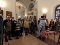Молебен в храмах 2-го Раменского благочиннического округа
