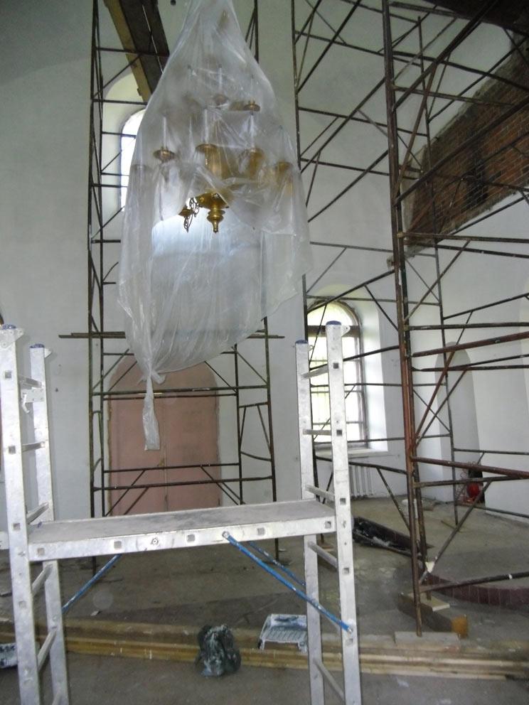 Ремонт храма