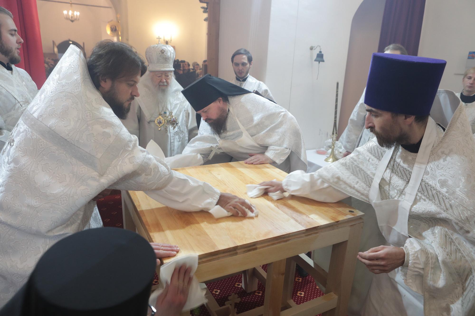 Великое освящение Покровского храма деревни Еганово