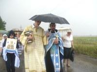 Захваченные дождем