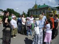 Центральная площадь Углича –Рядом с Кремлем и набережной Волги
