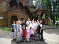 У палаты дворца удельных князей –Единственное сохранившееся здание после литовско-польской интервенции