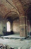 Август 2001 г. Вид внутри –Разруха