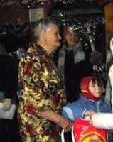С колядками у бабы Тони