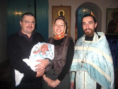Крещение Матвея